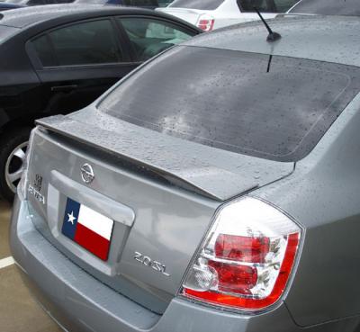 Spoilers - Custom Wing - DAR Spoilers - Nissan Sentra DAR Spoilers Custom 3 Post Wing w/o Light FG-067