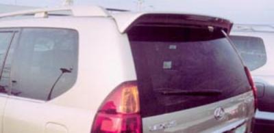 Spoilers - Custom Wing - DAR Spoilers - Lexus GX470 DAR Spoilers OEM Look Roof Wing w/ Clear Light FG-083