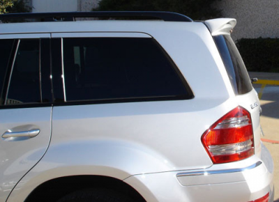 Spoilers - Custom Wing - DAR Spoilers - Mercedes GL DAR Spoilers Custom Roof Wing w/o Light FG-094