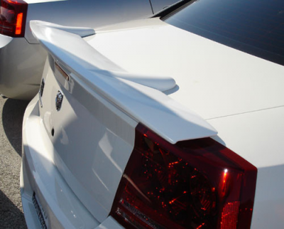 Spoilers - Custom Wing - DAR Spoilers - Dodge Charger 500 DAR Spoilers Custom Flush Wing w/o Light FG-095