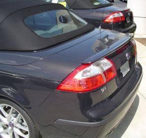 Spoilers - Custom Wing - DAR Spoilers - Saab 9.3 Convertible DAR Spoilers OEM Look Trunk Lip Wing w/o Light FG-099