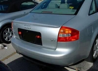 DAR Spoilers - Audi A6 DAR Spoilers Custom Trunk Lip Wing w/o Light FG-103