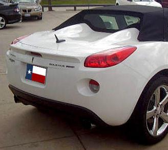 Spoilers - Custom Wing - DAR Spoilers - Pontiac Solstice DAR Spoilers OEM Look Trunk Lip Wing w/o Light FG-108