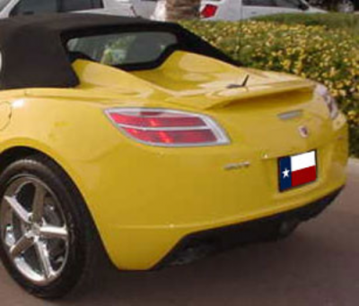 Spoilers - Custom Wing - DAR Spoilers - Saturn Sky DAR Spoilers OEM Look 3 Post Wing w/o Light FG-110
