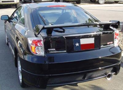 Spoilers - Custom Wing - DAR Spoilers - Toyota Celica Action-Package DAR Spoilers OEM Look 3 Post Wing w/o Light FG-115