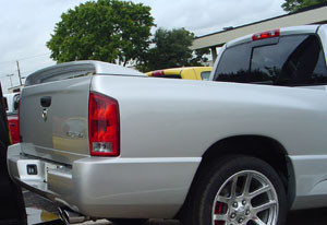 Spoilers - Custom Wing - DAR Spoilers - Dodge Ram Pick-Up Srt-10 DAR Spoilers OEM Look 3 Post Wing w/o Light FG-132