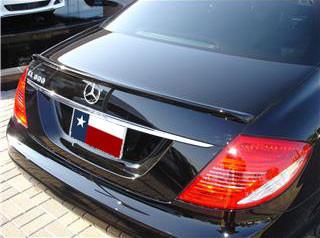 Spoilers - Custom Wing - DAR Spoilers - Mercedes Cl DAR Spoilers Custom Trunk Lip Wing w/o Light FG-147