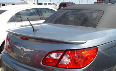 Spoilers - Custom Wing - DAR Spoilers - Chrysler Sebring Convertible DAR Spoilers Custom Trunk Lip Wing w/o Light FG-156