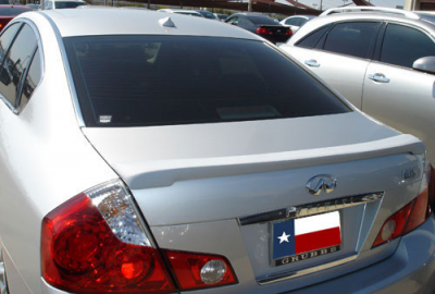 Spoilers - Custom Wing - DAR Spoilers - Infiniti M35/M45 (Large) DAR Spoilers Custom Trunk Lip Wing w/o Light FG-161