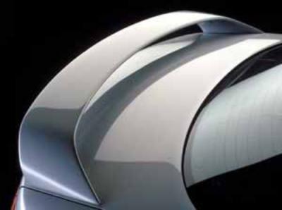 Spoilers - Custom Wing - DAR Spoilers - Mazda 6 Sedan DAR Spoilers OEM Look 3 Post Wing Clr/Light FG-166