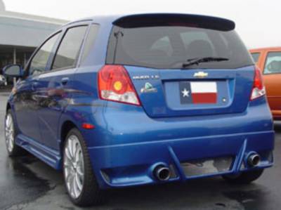 Spoilers - Custom Wing - DAR Spoilers - Chevrolet Aveo 5-Dr Hatchback DAR Spoilers OEM Look Roof Wing w/o Light FG-169
