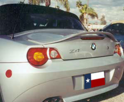 Spoilers - Custom Wing - DAR Spoilers - Bmw Z4 (Convertible Only) DAR Spoilers OEM Look 3 Post Wing w/o Light FG-170