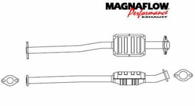 Exhaust - Catalytic Converter - MagnaFlow - MagnaFlow Direct Fit Catalytic Converter - 22614