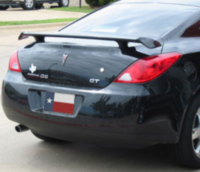 Spoilers - Custom Wing - DAR Spoilers - Pontiac G6 Coupe DAR Spoilers Custom 3 Post Wing w/o Light FG-173