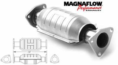 Exhaust - Catalytic Converter - MagnaFlow - MagnaFlow Direct Fit Catalytic Converter - 22627