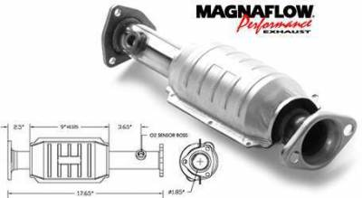 Exhaust - Catalytic Converter - MagnaFlow - MagnaFlow Direct Fit Catalytic Converter - 22629