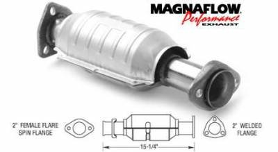 Exhaust - Catalytic Converter - MagnaFlow - MagnaFlow Direct Fit Catalytic Converter - 22635