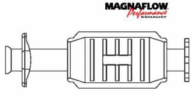 Exhaust - Catalytic Converter - MagnaFlow - MagnaFlow Direct Fit Catalytic Converter - 22640