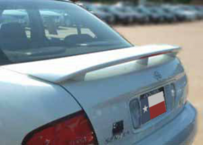Spoilers - Custom Wing - DAR Spoilers - Nissan Sentra DAR Spoilers OEM Look 3 Post Wing w/ Light FG-191