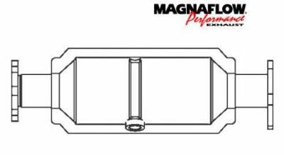 Exhaust - Catalytic Converter - MagnaFlow - MagnaFlow Direct Fit Catalytic Converter - 22641