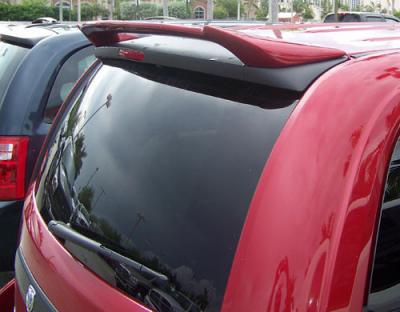 Spoilers - Custom Wing - DAR Spoilers - Dodge Caravan DAR Spoilers Custom Roof Wing w/o Light FG-193