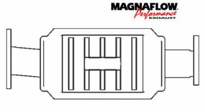 Exhaust - Catalytic Converter - MagnaFlow - MagnaFlow Direct Fit Catalytic Converter - 22644
