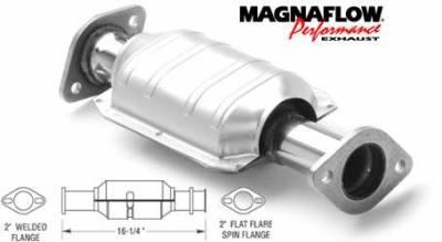 Exhaust - Catalytic Converter - MagnaFlow - MagnaFlow Direct Fit Catalytic Converter - 22760
