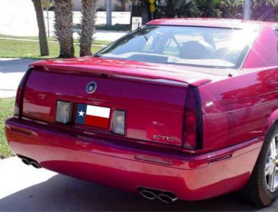 DAR Spoilers - Cadillac El Dorado DAR Spoilers Custom 3 Post Wing w/ Light FG-200