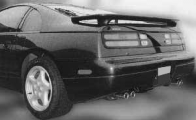 Spoilers - Custom Wing - DAR Spoilers - Nissan 300Zx DAR Spoilers OEM Look 3 Post Wing w/o Light FG-203