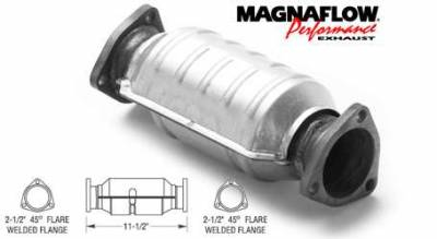 Exhaust - Catalytic Converter - MagnaFlow - MagnaFlow Direct Fit Aftermarket Style Catalytic Converter - 22927