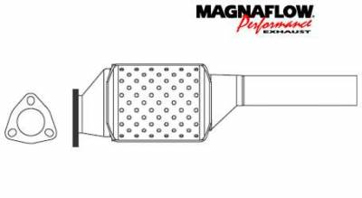 Exhaust - Catalytic Converter - MagnaFlow - MagnaFlow Direct Fit OEM Style Catalytic Converter - 22956