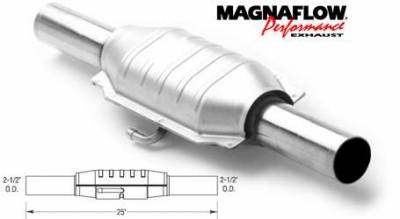 Exhaust - Catalytic Converter - MagnaFlow - MagnaFlow Direct Fit Catalytic Converter - 23223