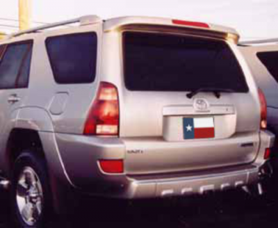 Spoilers - Custom Wing - DAR Spoilers - Toyota 4Runner DAR Spoilers OEM Look Roof Wing w/ Light FG-225