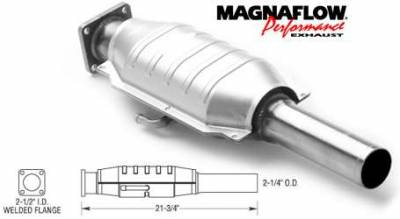 Exhaust - Catalytic Converter - MagnaFlow - MagnaFlow Direct Fit Catalytic Converter - 23229