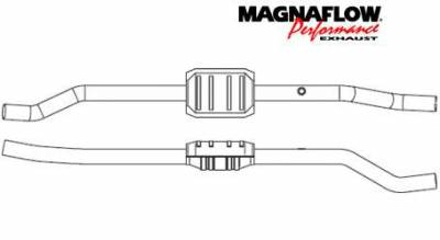 Exhaust - Catalytic Converter - MagnaFlow - MagnaFlow Direct Fit Catalytic Converter - 23234