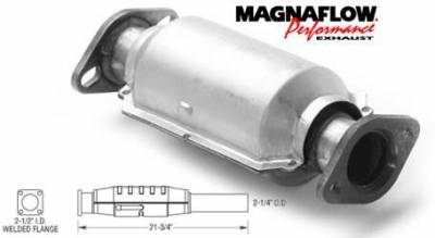 Exhaust - Catalytic Converter - MagnaFlow - MagnaFlow Direct Fit Rear Catalytic Converter - 23235