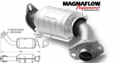 Exhaust - Catalytic Converter - MagnaFlow - MagnaFlow Direct Fit Catalytic Converter - 23238