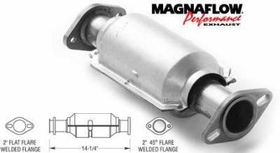 Exhaust - Catalytic Converter - MagnaFlow - MagnaFlow Direct Fit Catalytic Converter - 23240
