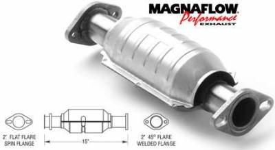 Exhaust - Catalytic Converter - MagnaFlow - MagnaFlow Direct Fit Catalytic Converter - 23242