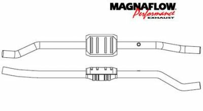 Exhaust - Catalytic Converter - MagnaFlow - MagnaFlow Direct Fit Catalytic Converter - 23246