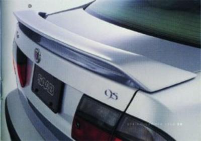 Spoilers - Custom Wing - DAR Spoilers - Saab 9.5 4-Dr DAR Spoilers OEM Look 3 Post Wing w/o Light FG-236