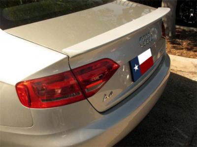 DAR Spoilers - Audi A4 DAR Spoilers OEM Look Trunk Lip Wing w/o Light FG-238