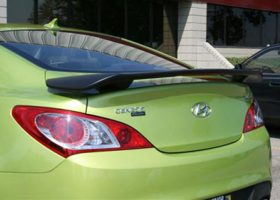 Spoilers - Custom Wing - DAR Spoilers - Hyundai Genesis Coupe DAR Spoilers OEM Look 3 Post Wing w/ Light FG-240