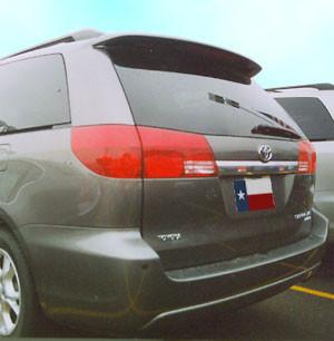 Spoilers - Custom Wing - DAR Spoilers - Toyota Sienna DAR Spoilers OEM Look Roof Wing w/ Light FG-243