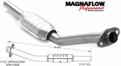 Exhaust - Catalytic Converter - MagnaFlow - MagnaFlow Direct Fit Catalytic Converter - 23272