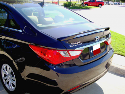 Spoilers - Custom Wing - DAR Spoilers - Hyundai Sonata DAR Spoilers Custom 3 Post Wing w/o Light FG-264