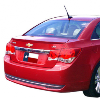 Spoilers - Custom Wing - DAR Spoilers - Chevrolet Cruze DAR Spoilers OEM Look Trunk Lip Wing w/o Light FG-274