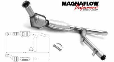Exhaust - Catalytic Converter - MagnaFlow - MagnaFlow Direct Fit Catalytic Converter - 23317