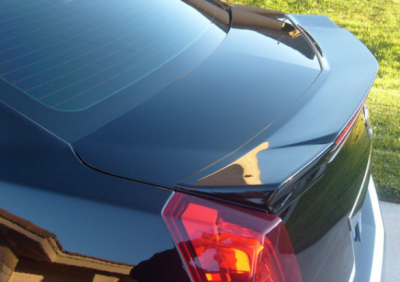 Spoilers - Custom Wing - DAR Spoilers - Cadillac CTS Sedan (Not V-Type) DAR Spoilers Custom Flush Wing w/o Light FG-278