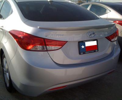Spoilers - Custom Wing - DAR Spoilers - Hyundai Elantra DAR Spoilers Custom Trunk Lip Wing w/o Light FG-281